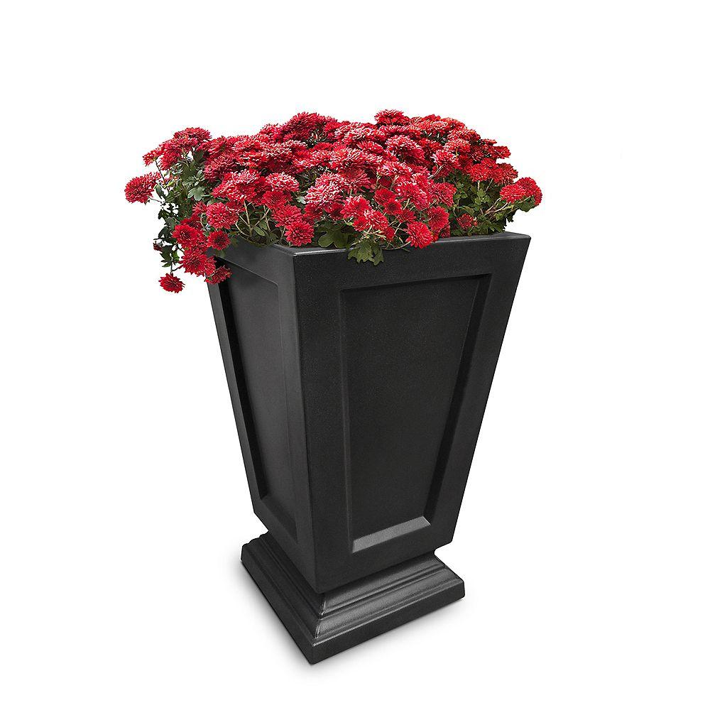 "Mayne Aberdeen 25"" Tall Planter - Black"