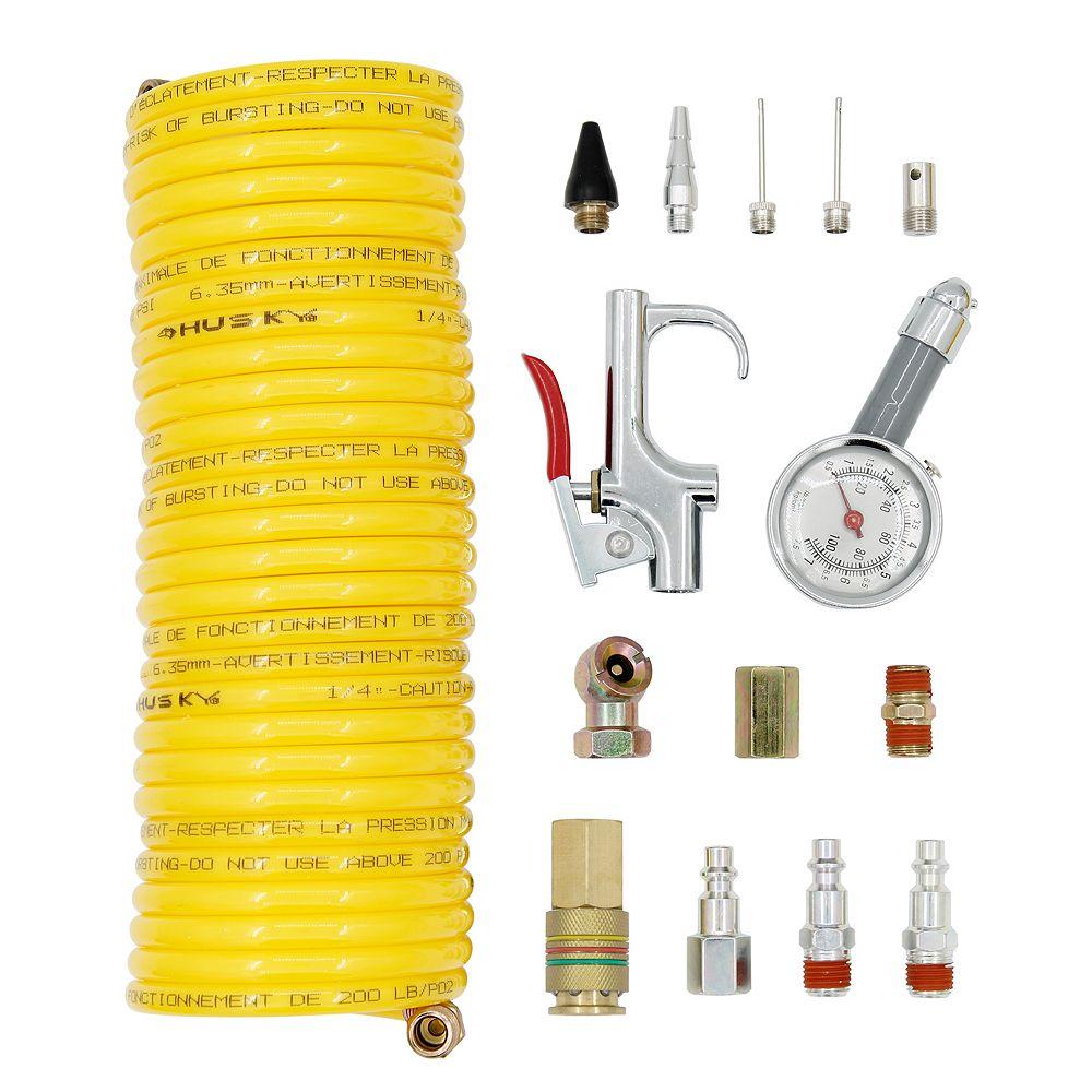 Husky 15 Piece Nylon Air Hose Kit