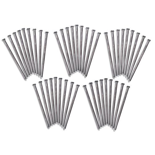 EasyFlex Round Steel Anchoring Spike Pack - 45 Ct.
