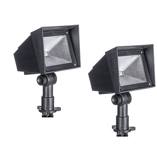15-Lumen Squared Edge Solar Path Light (Set of 2)
