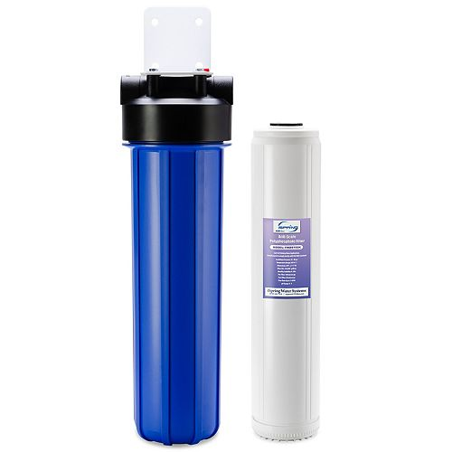 """WDS150K Anti Scale 20"""" x 4.5"""" Whole House Water Filter with Patented Scale Inhibitor"""