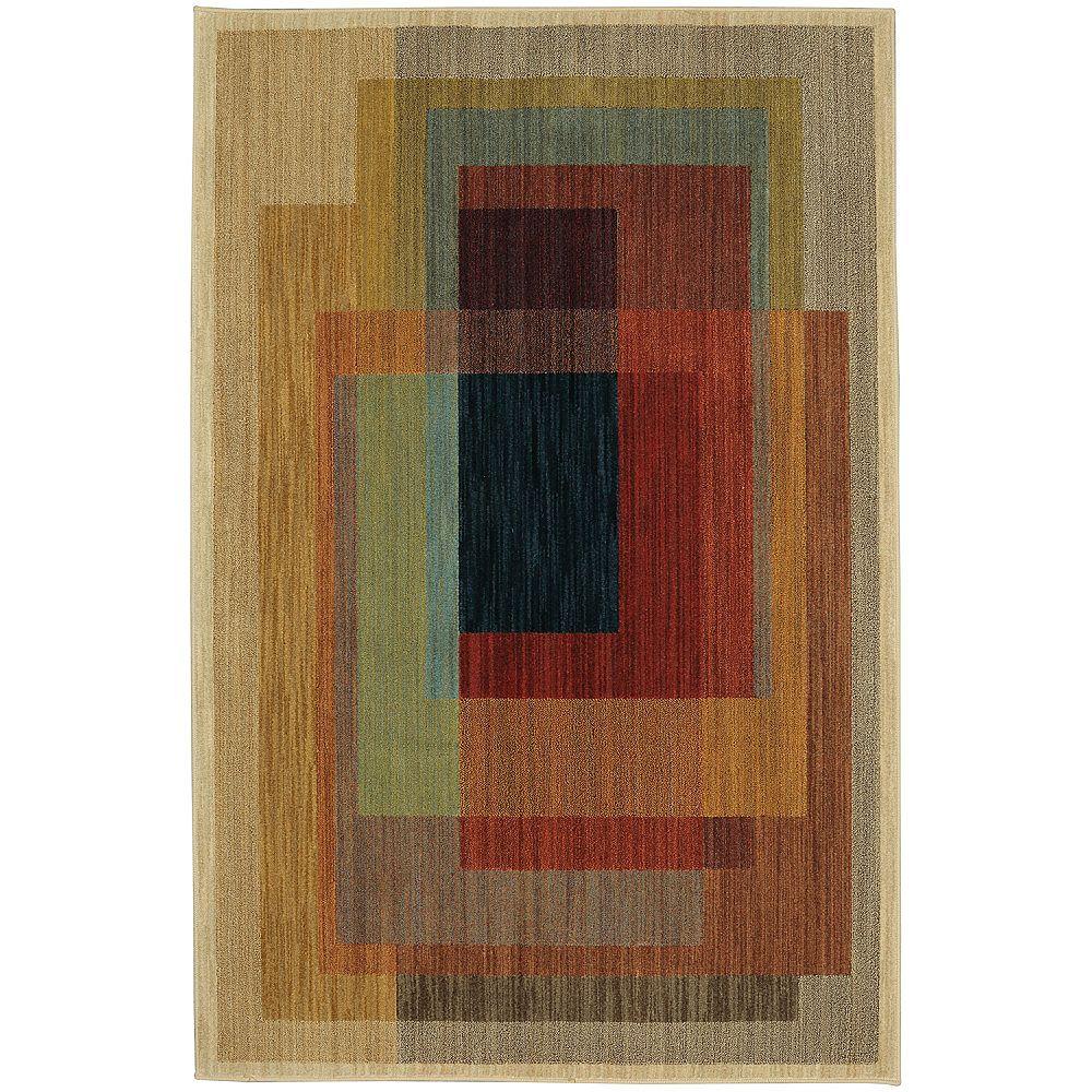 Mohawk Home Illusion multi 244 cm x 305 cm (8 pi x 10 pi)dintérieur Tapis