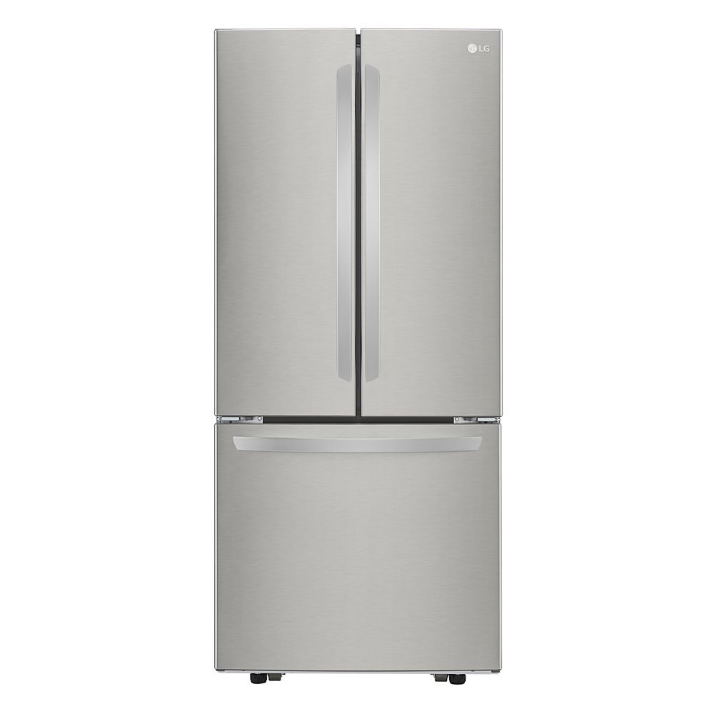 LG Electronics 30-inch W 22 cu. Ft. French Door Refrigerator in Smudge Resistant Stainless Steel