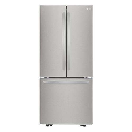 30-inch W 22 cu. Ft. French Door Refrigerator in Smudge Resistant Stainless Steel - ENERGY STAR®
