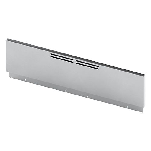 9 inch Low Back Guard for 30 inch Industrial Style Range, Stainless Steel