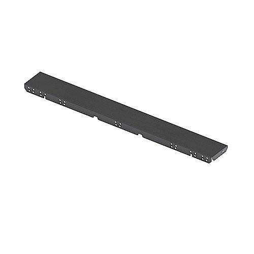 Bosch Ens. d'extension de panneau latéral pour cuisinière style industriel en inox noir
