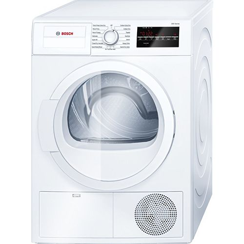 300 Series 24-Inch 4.0 cu.ft Condensing Dryer - ENERGY STAR® - Plug Adaptor Included