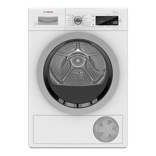 500 Series 24-Inch 4.0 cu.ft. Smart Heat Pump Dryer with Home Connect - ENERGY STAR® - Plug Adaptor Included