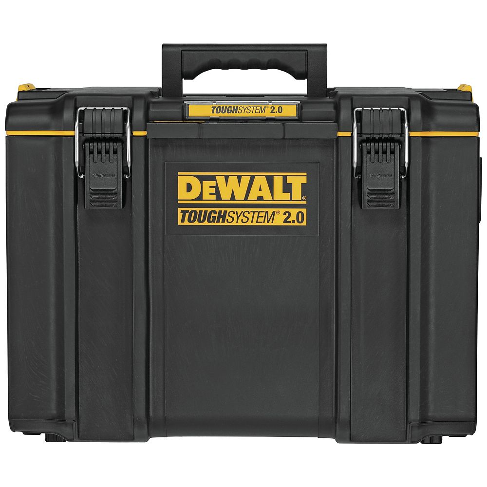DEWALT Tough System DWST08400 2.0 L Extra Large Tool Box with 10-lb. Weight Capacity