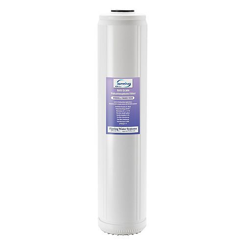 FWDS150K 20 x 4.5 Water Filter Cartridges - Anti Scale Filter with Patented Scale Prohibitor