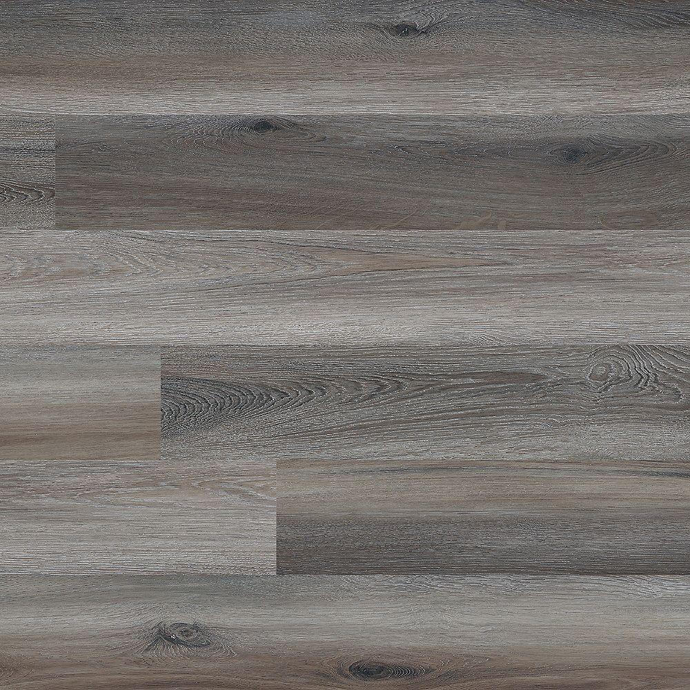 MSI Stone ULC Planches en vinyle de luxe Woodlett, érable fumé, 6 po x 48 po (36 pi2/bte)