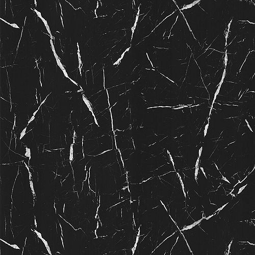 Formica Canada 180fx Nero Marquina 4 ft. x 8 ft. Laminate Sheet in Matte Finish 7403-58