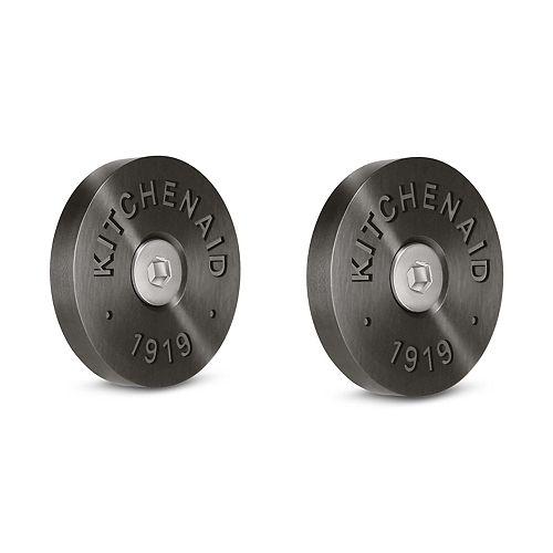 Appliance Handle Medallion Kit in Black