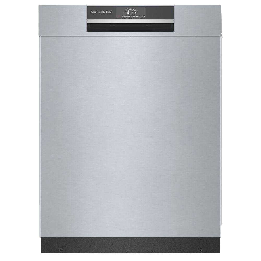 Bosch 800 Series 24-inch Top Control  Dishwasher in Stainless Steel, 3rd Rack, Wi-Fi Connected, 42dBA CrystalDry
