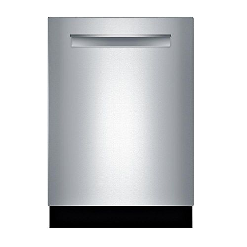 Série 800 - Lave-vaisselle 24 pouces avec 3ème panier flexible - CrystalDry - Poignée de poche