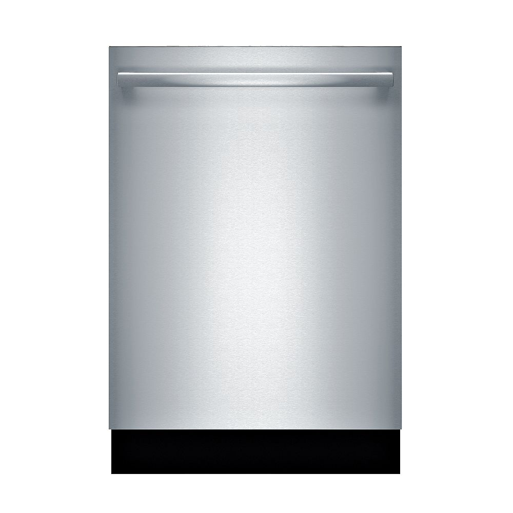 Bosch 800 Series 24-inch Top Control  Dishwasher in Stainless Steel, 3rd Rack, 42 dBA, CrystalDry