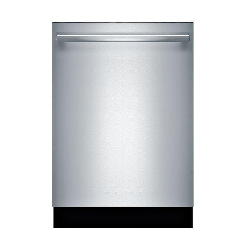 Lave-vaisselle 24 pouces Top Control de la série 800 en acier inoxydable, 3ème panier, 42 dBA, CrystalDry® ENERGY STAR®