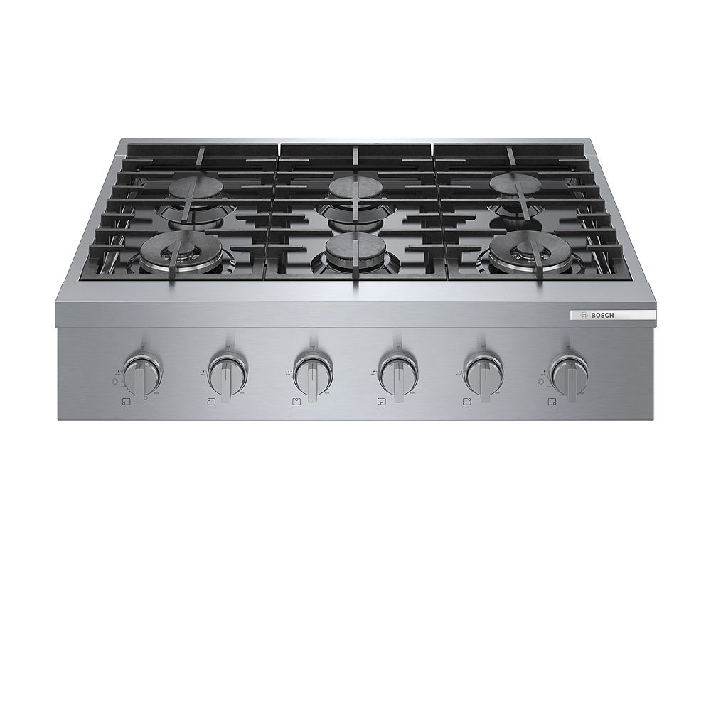 Bosch 800 Series 36-Inch Built-In Industrial Style Gas Cooktop