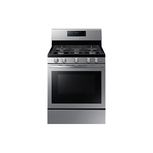 5.8 cu.ft. Single Oven Gas Range with Self-Cleaning Convection Oven in Fingerprint Resistant Stainless Steel