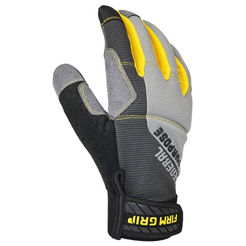 Firm Grip 3 Pairs General Purpose Gloves XL