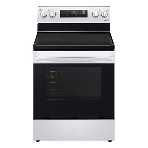 6.3 cu. ft. Smart Electric Range with Wi-Fi and EasyClean® in Stainless Steel