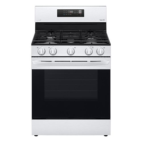 5.8 cu. ft. Smart Gas Range with Wi-Fi and EasyClean® in Stainless Steel