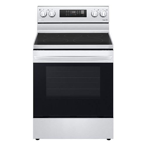 6.3 cu. ft. Smart Electric Range with Air Fry and Wi-Fi in Stainless Steel