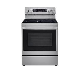 6.3 cu. ft. Smart Electric Range with InstaView and Air Fry in Smudge Resistant Stainless Steel