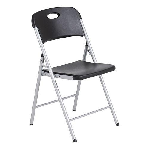 Chaise pliante de Lifetime, noir