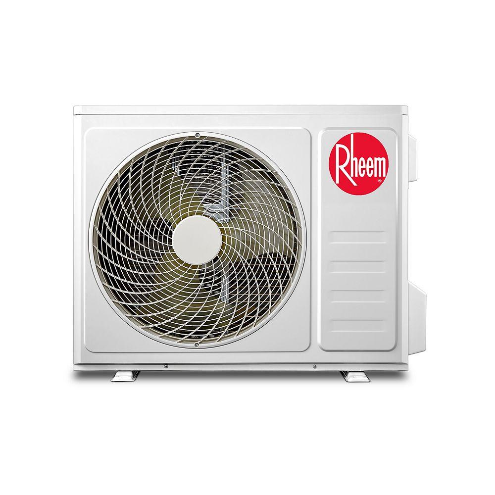 Rheem Mini Split Single Zone Outdoor Condenser, 18,000BTU