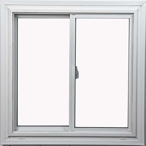 Farley Windows 36-inch x 36-inch Double Sliding White Window with Vertex3 Technology and Energy Star