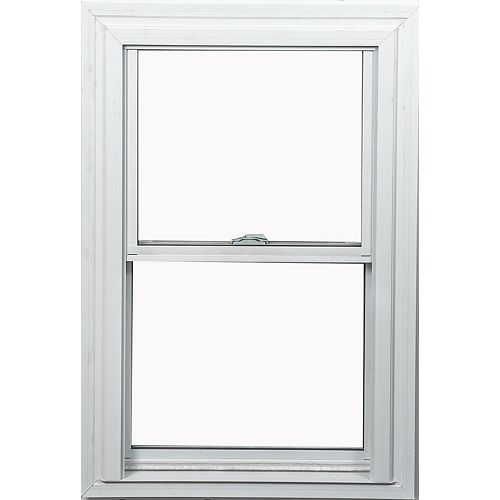 36-inch x 48-inch Double Hung White Window with Vertex3 Technology and Energy Star