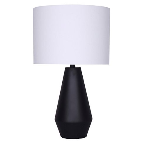 Lampe de Table 24'' Noir Mat