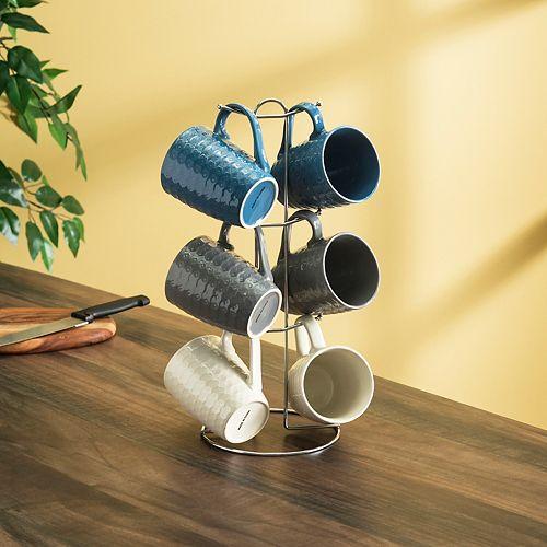 11 oz. 6-Piece Diamond Mug Set