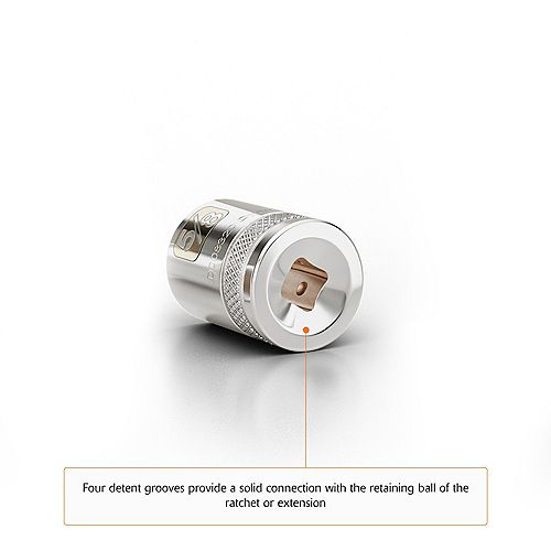 DYNAMIC TOOLS 1/2 inch Drive 16 Piece 12 Point Standard, SAE Socket Set, 3/8 inch - 1-5/16 inch