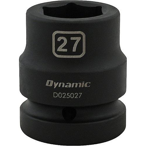 27MM X 1 inch Drive, 6 Point Standard Length, Impact Socket