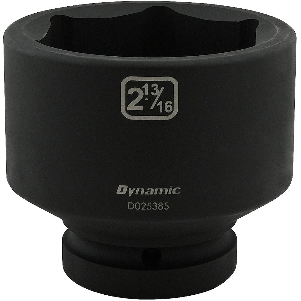 DYNAMIC TOOLS 2-13/16 inch X 1 inch Drive, 6 Point Standard Length, Impact Socket