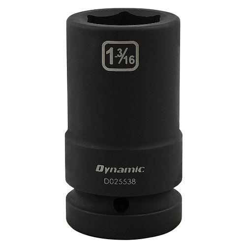 1-3/16 inch X 1 inch Drive, 6 Point Deep Length, Impact Socket