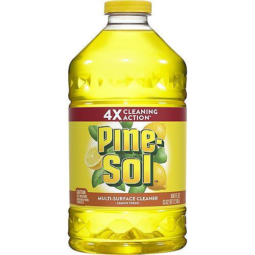 Pine-Sol Nettoyant multi-surface Pine-Sol au parfum de citron frais, 2,95 L