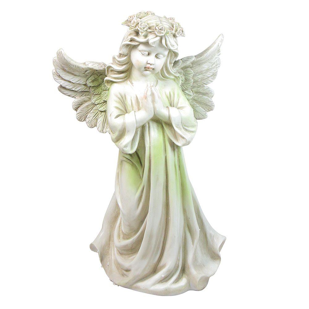 "Northlight 27"" Angel agenouillé Patio extérieur Statue Jardin"