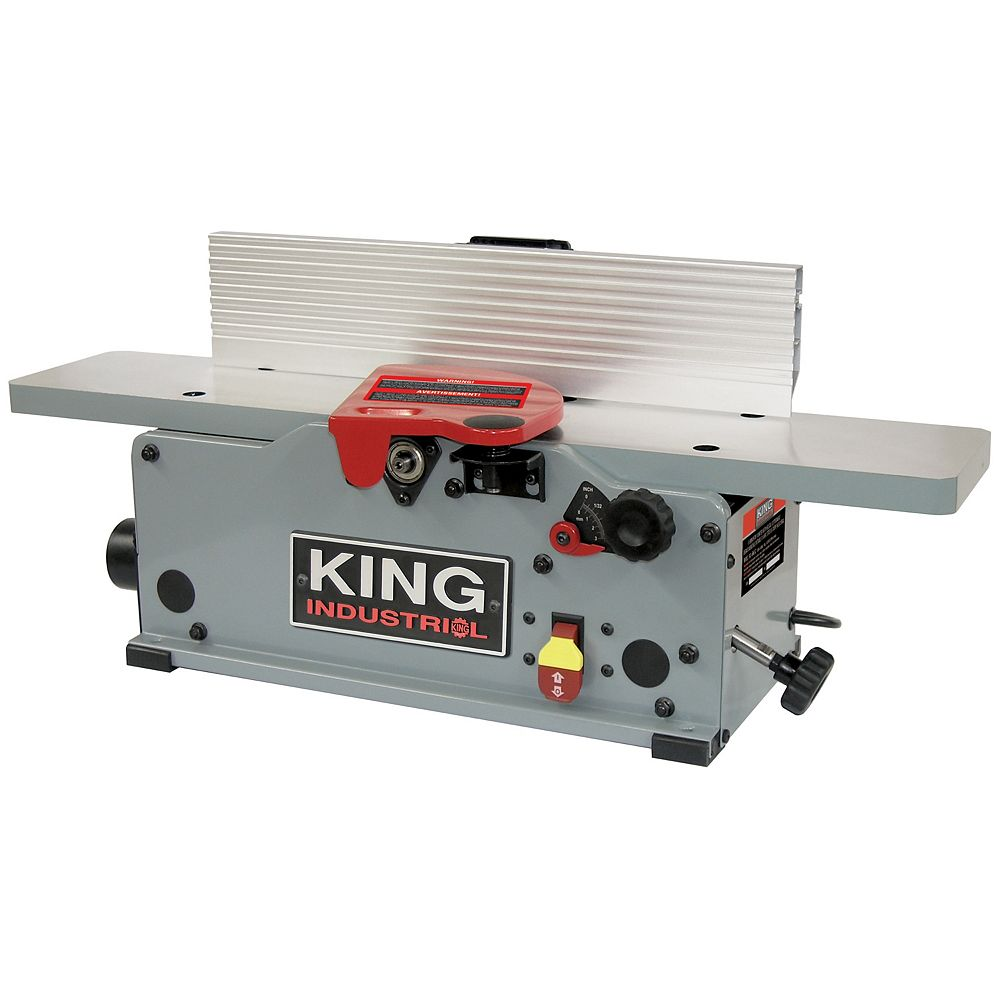 King Industrial 6 inch Benchtop jointer with helical cutterhead KC-6HJC