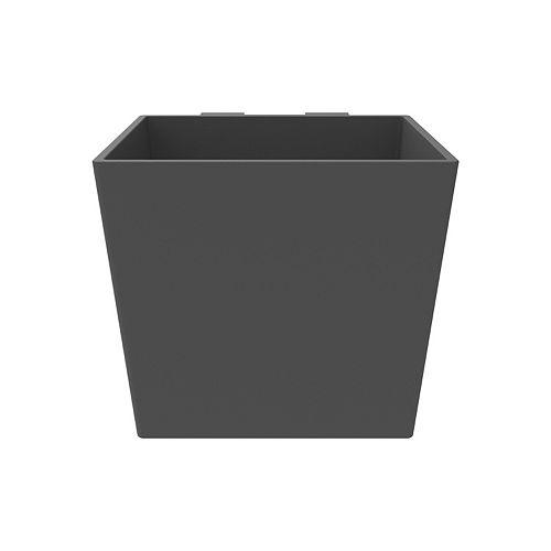 ModLiv Jardinière cubique ardoise de 6 po (lot de 3)