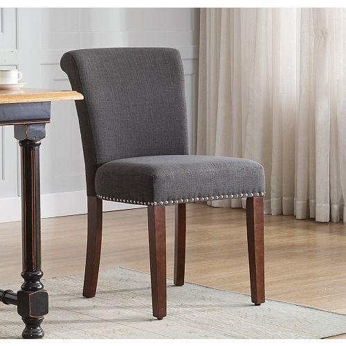 Rick Astrid Décor Birkin Dining Chair  in Dark Grey (2-pack)