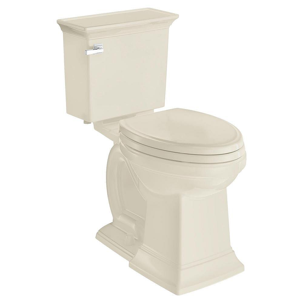 American Standard Town Square S 2 Piece 1 28 Gpf Single Flush Elongated Toilet In Linen S The Home Depot Canada
