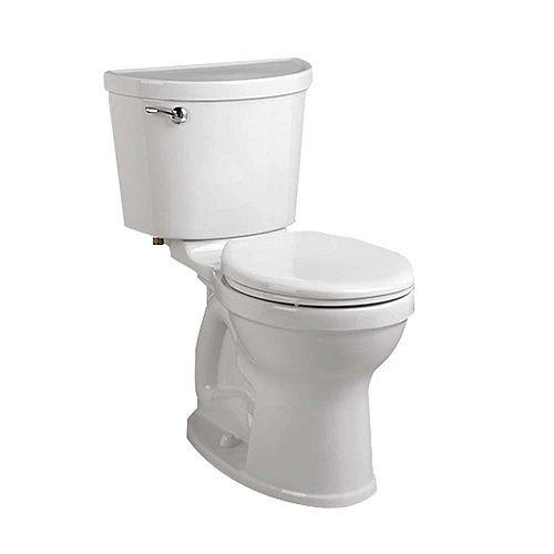 American Standard Champion Pro 2-Piece 1.28 GPF Single Flush Right Height Round Toilet in White