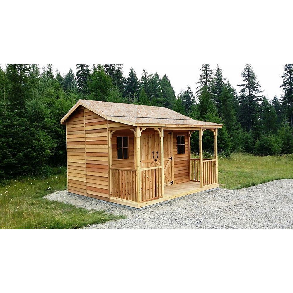 Cedarshed RancHouse 12x12 Cedar Shed