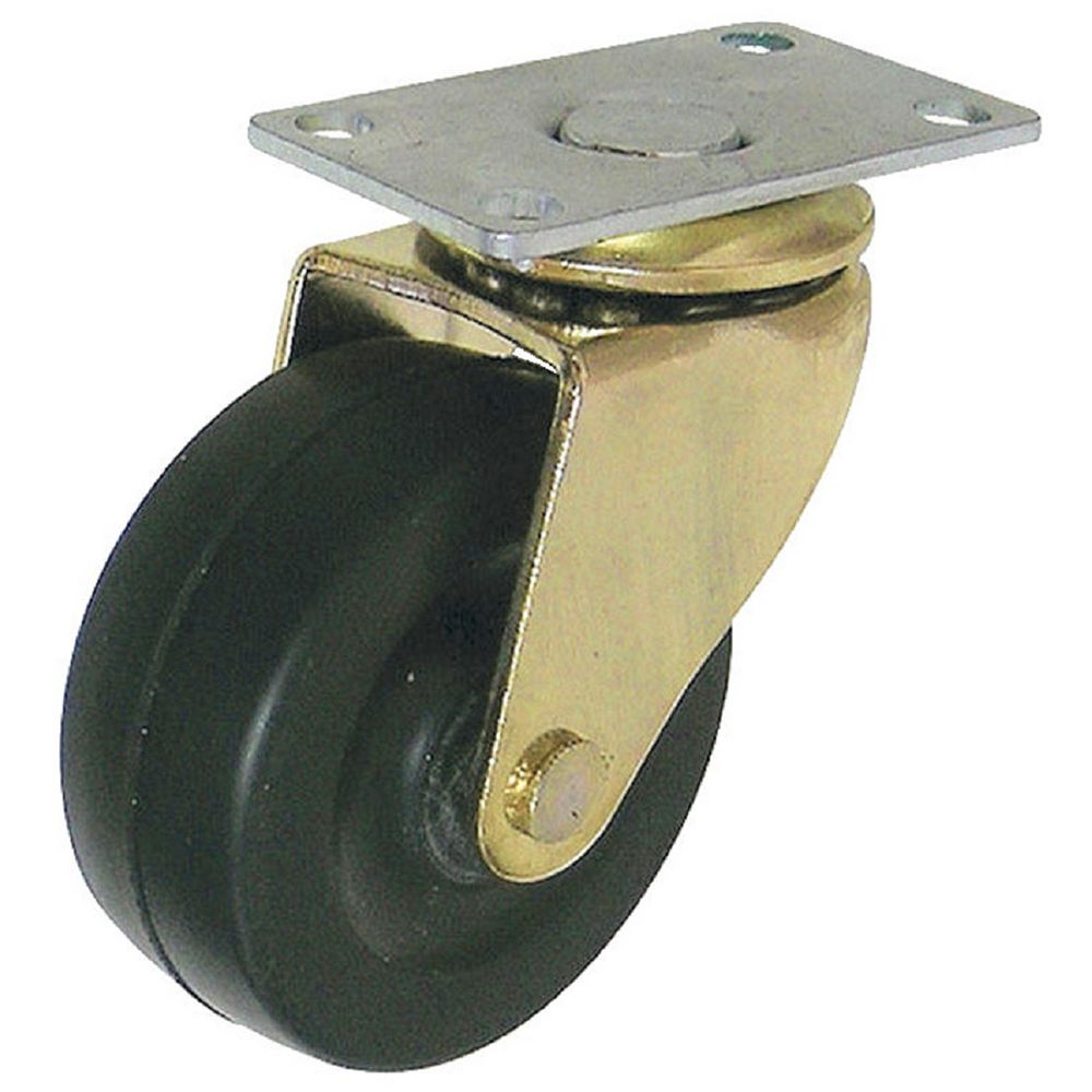 Madico (2-Pack) 2-inch (50 mm) Heavy-Duty Furniture Swivel Caster, 40 kg (88 lb) Load Capacity