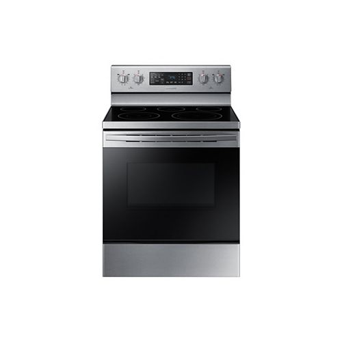 30-inch 5.9 cu. ft. Single Oven Electric Range with Self-Cleaning Oven in Fingerprint Resistant Stainless Steel