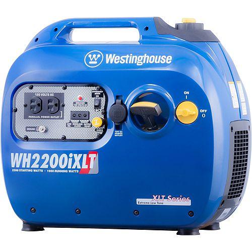 WH2200iXLT 2,200/1,800 Watt Gas Powered Portable Inverter Generator with Enhanced Fuel Efficiency