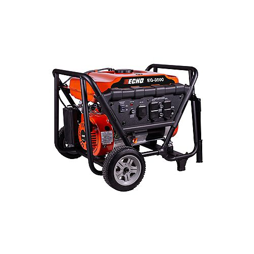 ECHO 3500W 212CC GAS GENERATOR WITH AUTOMATIC VOLTAGE REGULATOR